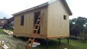 """Строительство типового дома """"Соло"""""""