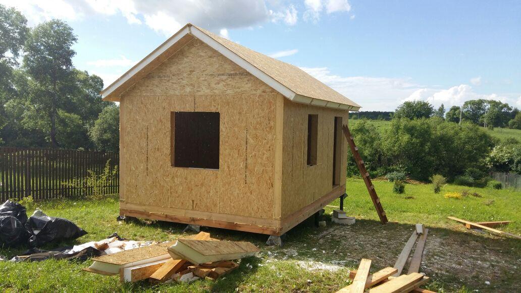 Строительство типового дома «Соло»