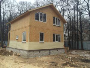 Построить дом из СИП панелей под ключ недорого