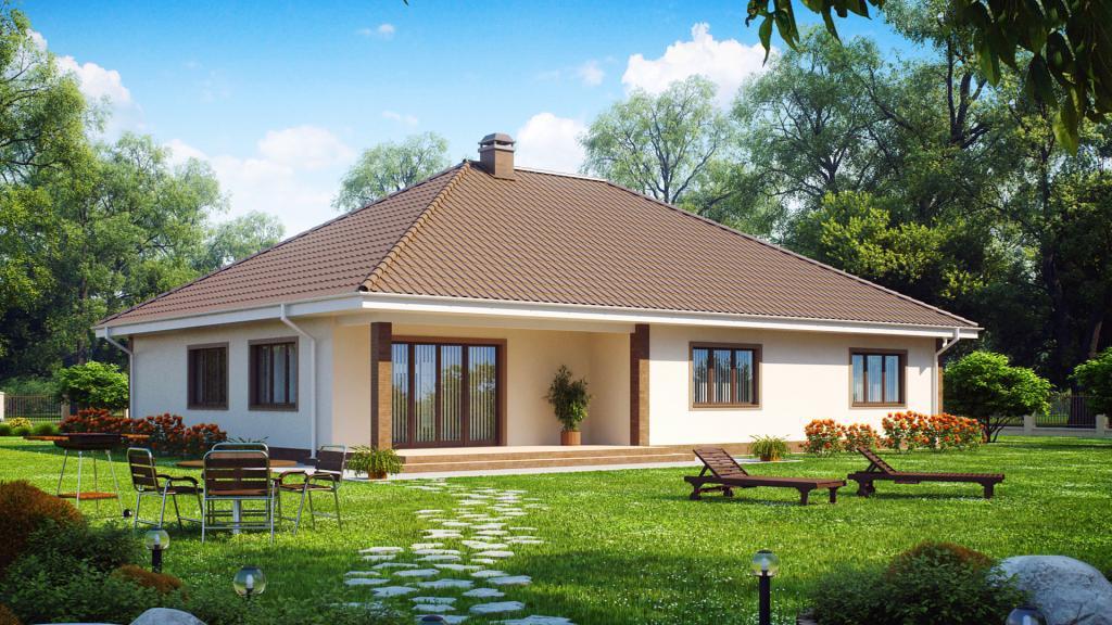 Фото дизайна домов одноэтажных домов