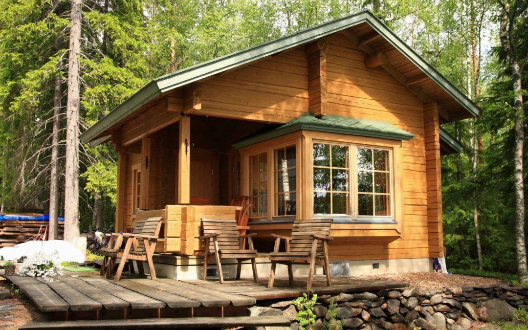 Садовый домик из SIP панелей