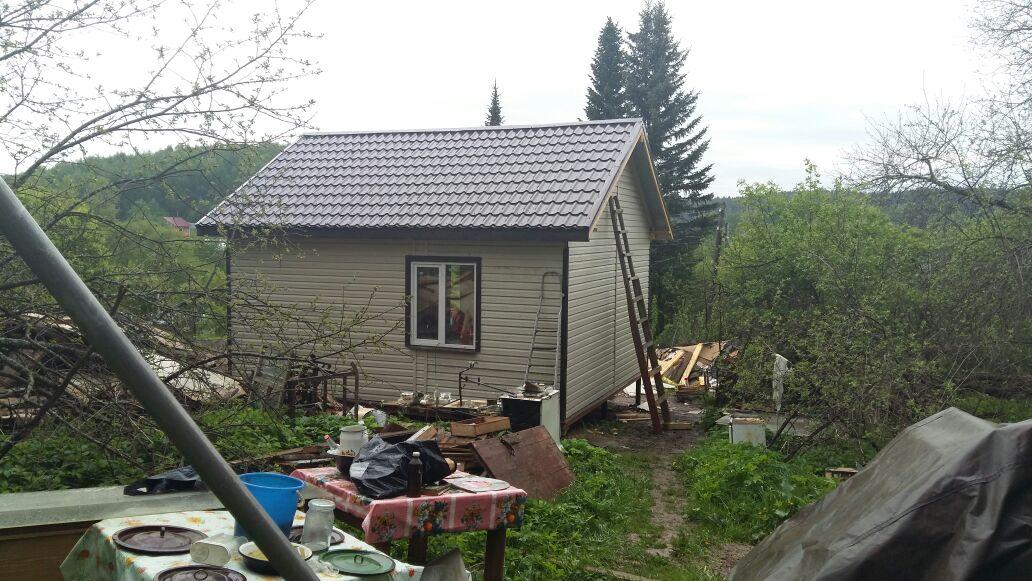 Строительство типового дома «Дуэт»