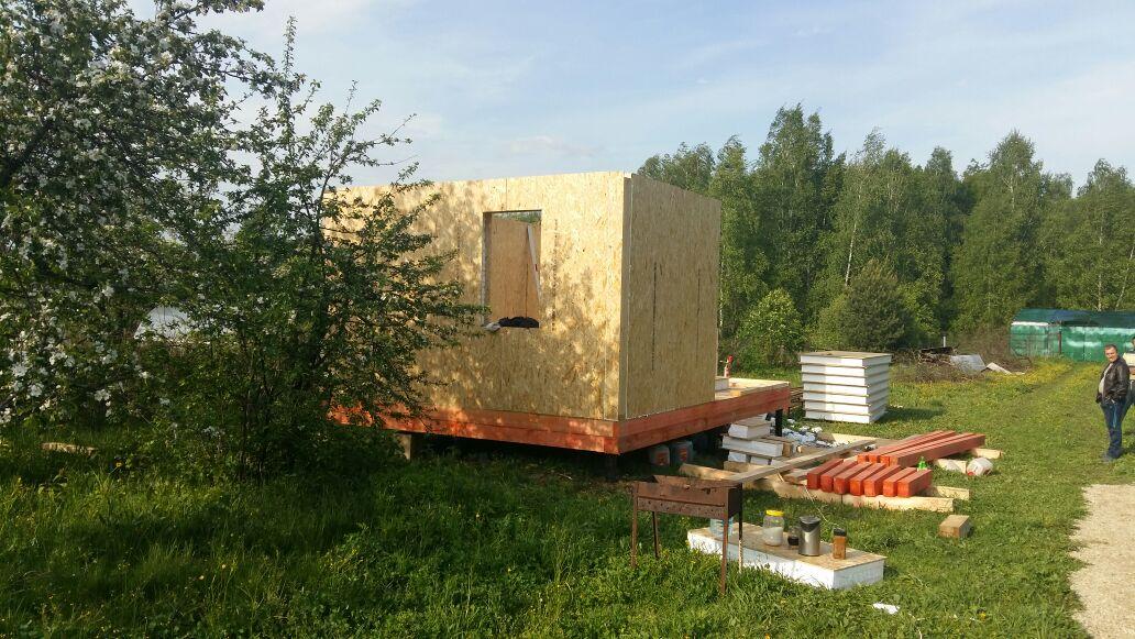 Строительство дома «Соло» из СИП панелей