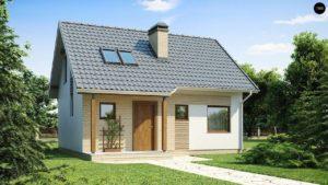 Одноэтажный дом из СИП панелей 7.5х7.5