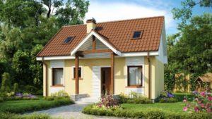 Проекты домов из СИП панелей до 50 кв.м