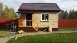 Небольшой дом из СИП панелей