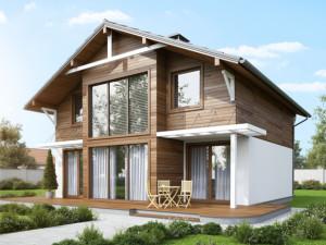 Лучший дом - дом из СИП панелей