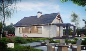 Энергосберегающие небольшие дома из СИП панелей проекты
