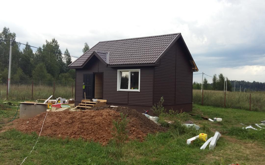 Строительство дома из СИП панелей. Внутренняя отделка
