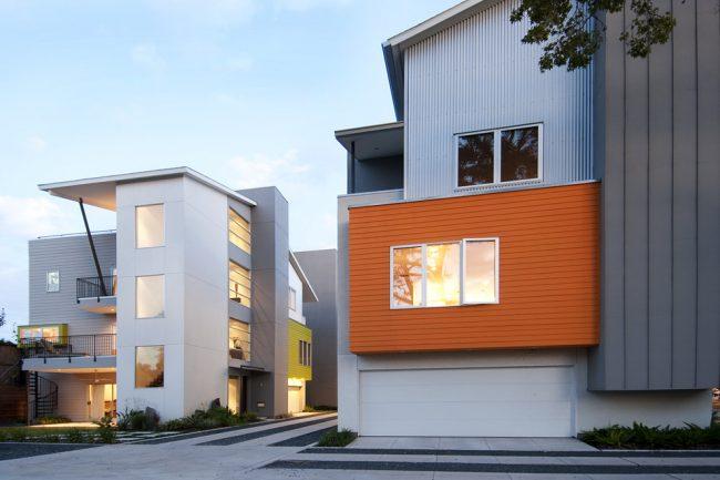 Дом из СИП панелей наружная отделка фасадными панелями