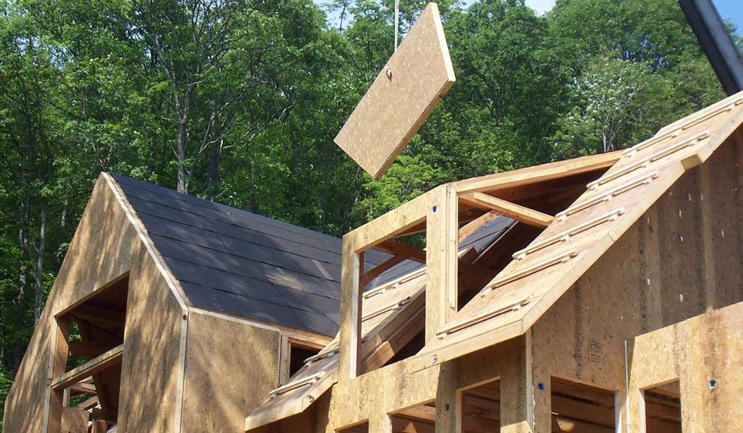 Крыша из СИП панелей. Преимущества