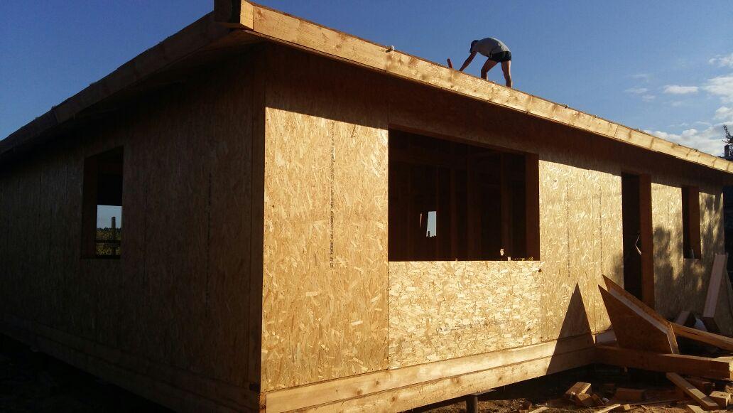 Строительство дома из сип-панелей по индивидуальному проекту