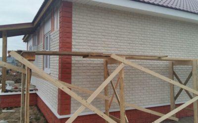 Внешняя отделка фасадов фиброцементной плиткой «Каньон»